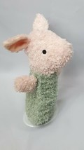 Disney Piglet Classic Pooh Hand Puppet Pink Green Pastel  - $12.16