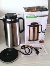 Nutrichef Electric Water Kettle-Cordless Water Boiler Stainless Steel (O... - €24,87 EUR