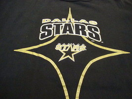 NHL Dallas Stars National Hockey League Fan Starter Apparel Black T Shir... - $15.53