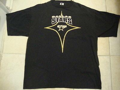 ff2a3930a NHL Dallas Stars National Hockey League Fan Starter Apparel Black T Shirt XL