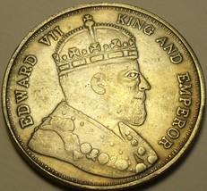 Hong Kong Fantasy Issue 1866 Dollar~Huge 38.1mm Medallion~Free Shipping - $7.91