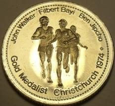 Large Gem Unc Walker-JIpcho-Bayi~1500 Meters Race Gold Medalist Medallion~Fr/Shi - $8.21