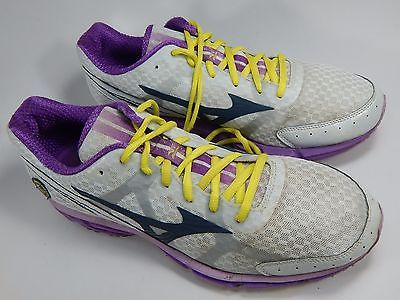 Mizuno Wave Rider 17 Women's Running Shoes Size US 11 M (B) EU 42.5 White