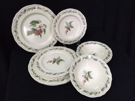 9 pcs. Noritake Homecraft Harvest Treasure #9210 Plates & Bowls Nice! - $119.99