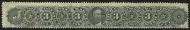 RO21a, Barber & Peckham Match Co. Stamp Cat $275.00 - Stuart Katz - $225.00