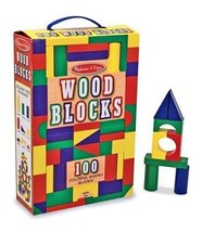 Melissa & Doug 100-Piece Wood Blocks Set - $19.55