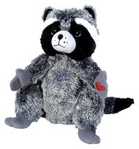 MerryMakers The Kissing Hand Chester Raccoon Plush Doll, 9-Inch - $16.78