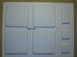 "6 Olde Country Tile Molds Make 100s 12x12x.5"" Concrete Floor Tile @ 30 Cents Ea. image 7"