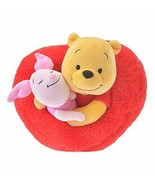 Disney Store Official Plush Doll Pooh & Piglet Valentine 2019 Limited Japan - $86.01