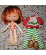 * Vintage Strawberry Shortcake w/ Outfit Flat H... - $5.00