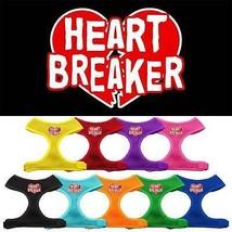 HEART BREAKER Mesh Pet Harness * Soft Adjustable Puppy Dog Cat Valentine... - $15.83+