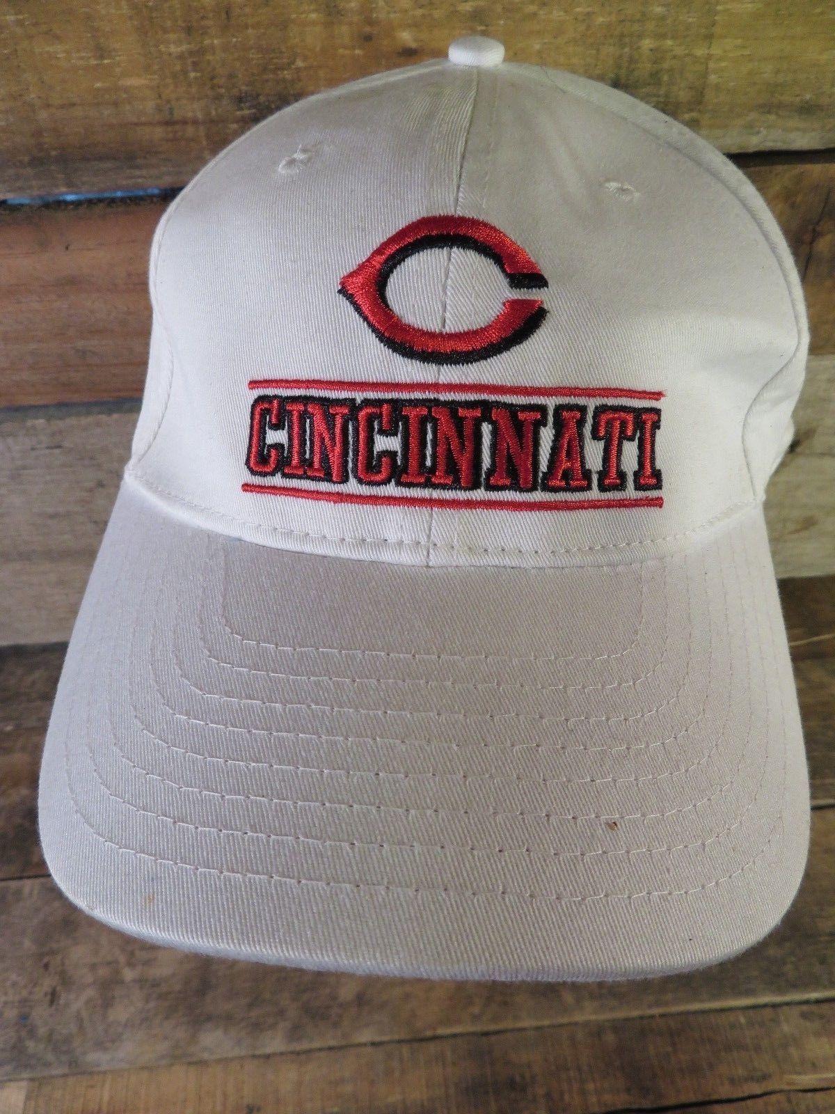 Cincinnati Rot Baseball MLB New Era Verstellbar Erwachsene Hut Kappe