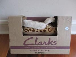 BNIB Clarks Women's indoor/outdoor slippers, Genuine leather uppers - £31.13 GBP