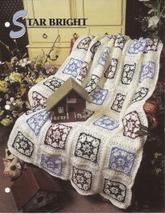Star Bright Afghan Pattern Annies Crochet Quilt & Afghan Club  - $5.50