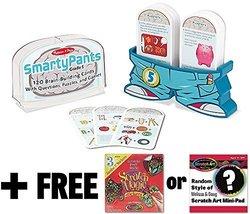 5th Grade Smarty Pants Card Game Set + FREE Melissa & Doug Scratch Art M... - $14.60