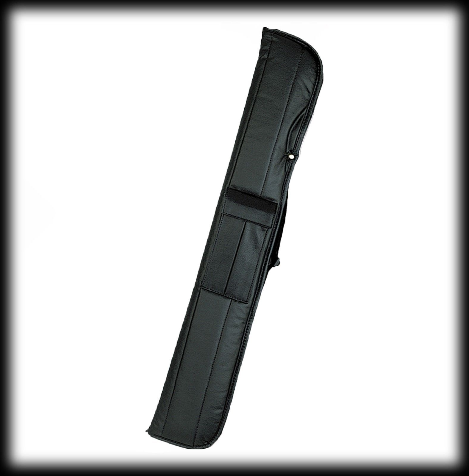 "New Athena ATH38 Pool Cue Stick - Black and Pink ""Heartburn""  17-21 oz & Case"