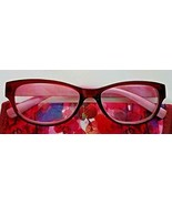 Simply Specs Hollee Magenta Floral Womens +1.75 Reading Glasses w/Case - $5.94