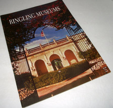 Circus Barnum Bailey Ringling Museums Art Theater Florida Brochure Bros ... - $15.83