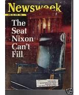 Newsweek Magazine Seat Nixon Can't Fill  April 20, 1970 - $14.84