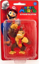 Super Mario Keychain 2 inch Mini Figure Donkey Kong Brand NEW! - $28.99
