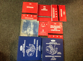 1994 FORD MUSTANG Service Shop Repair Workshop Manual Set W EVTM + Trans... - $247.49