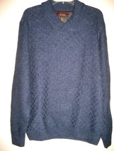 NEW WITH TAGS MENS MACYS TASSO ELBA WOOL CARDIGAN PULLOVER SWEATER SIZE L - $465,73 MXN