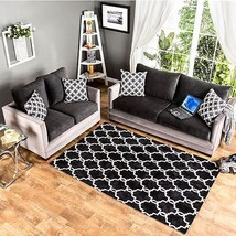Relly Sofa and Loveseat Black Grey Track Arm Living Room Set Contemporary Modern