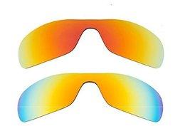 New Seek Optics Replacement Lenses Oakley Antix   Red Yellow - $33.13