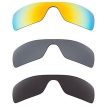 New SEEK Replacement Lenses Oakley BATWOLF - Black Yellow Black - $45.03
