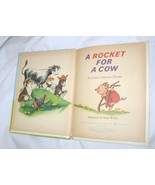 1965 ROCKET FOR A COW RAND McNALLY TIP TOP ELF BOOK FREE SHIPPING U.S.A. - $8.63