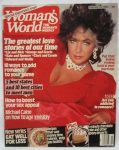 Elizabeth Taylor Greatest love stories February 14 1989