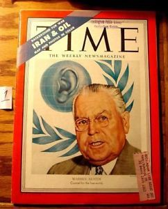 Time Magazine February 5 1951 Warren Austin #1