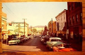 Waynesboro Virginia Chrome PC 1950s Old Cars