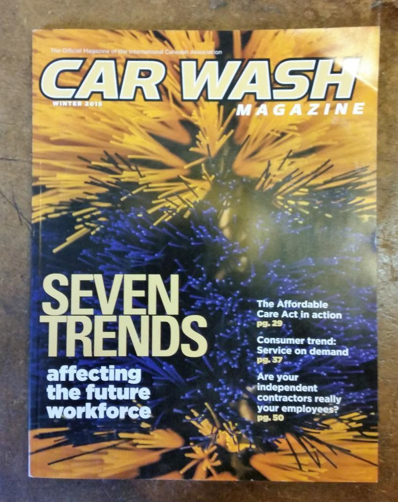 Winter Car Wash Magazine of the International Carwash Association