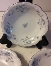 Johann Haviland Blue Garland Bavaria Backstamp Berry Fruit 4 Bowl Platinum