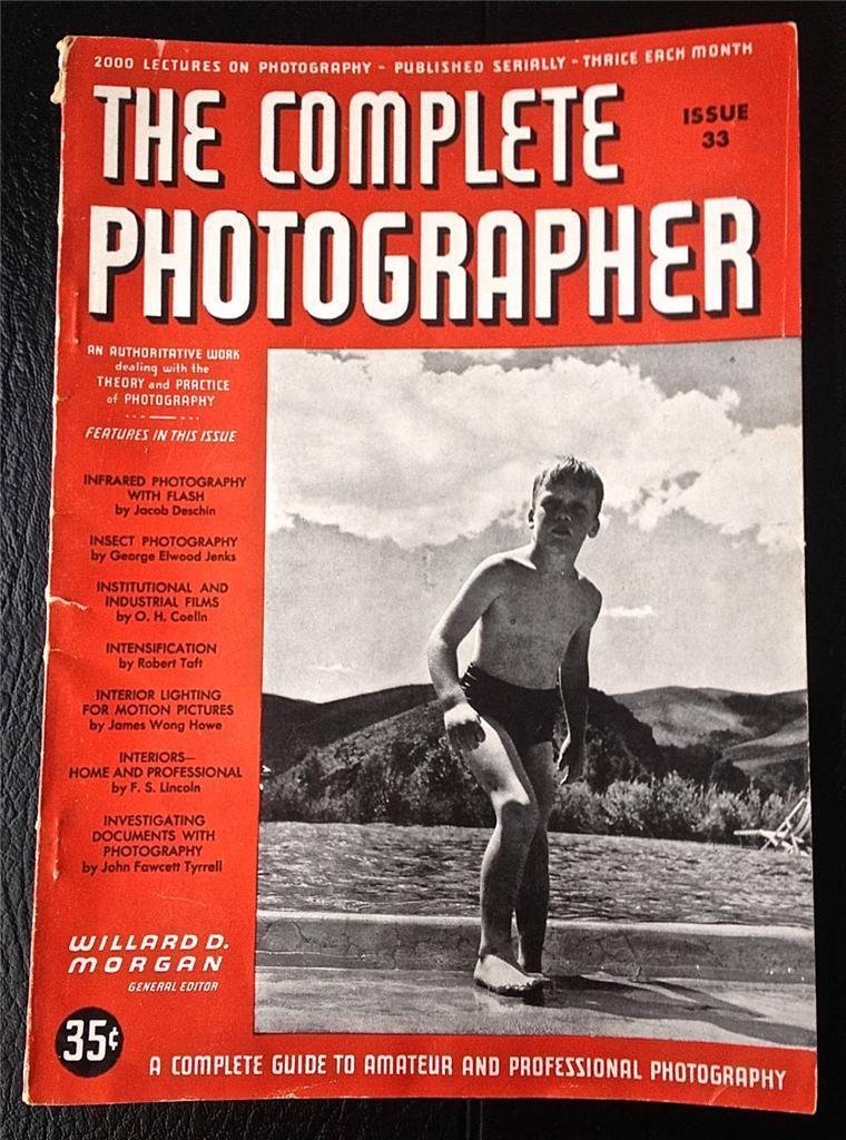 The Complete Photographer Magazine Issue 33 Volume 6 August 1942