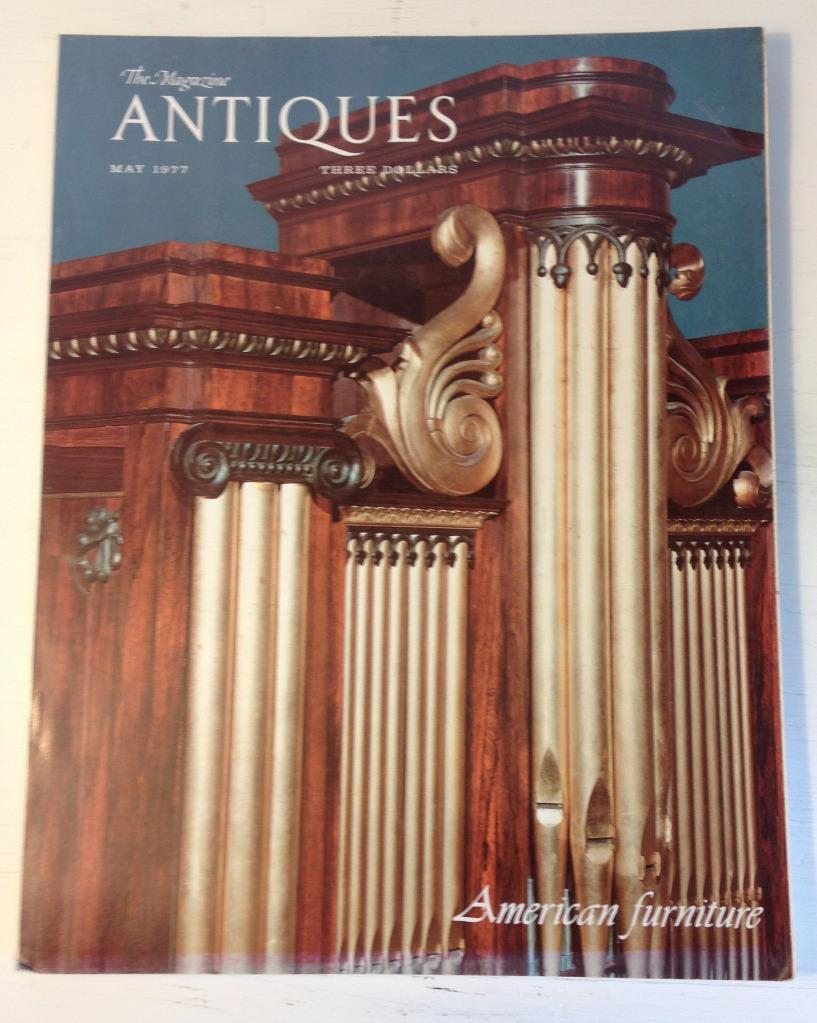 May 1977 Magazine Antiques American Furniture