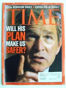 Time Magazine June 17 2002 President Bush Terrorist