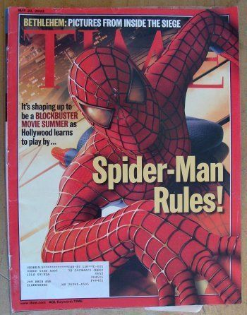 Time Magazine May 20 2002 Spider-Man Rules! Movies