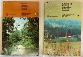 1972-73 Preston County Kingwood Newburg Rowlesburg Terra Alta Tunnelton Wv Book