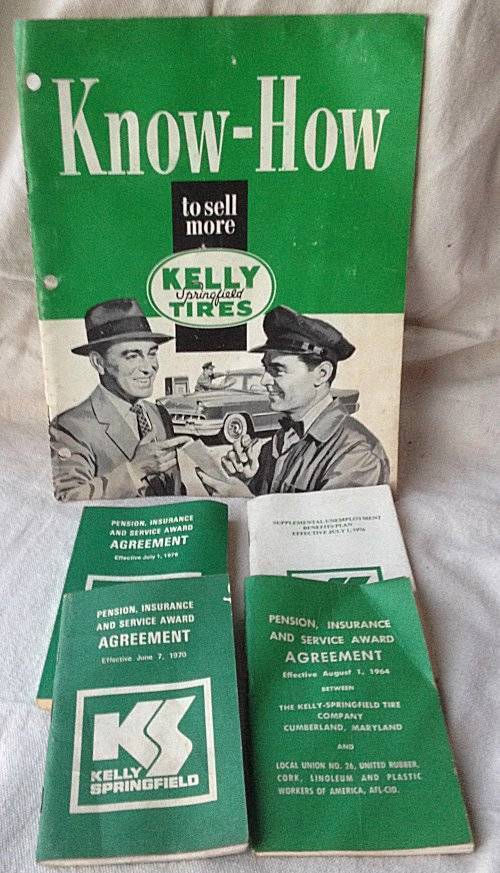 Kelly Know How to sell more Tires Booklet + Pension Insurance & Service Guides