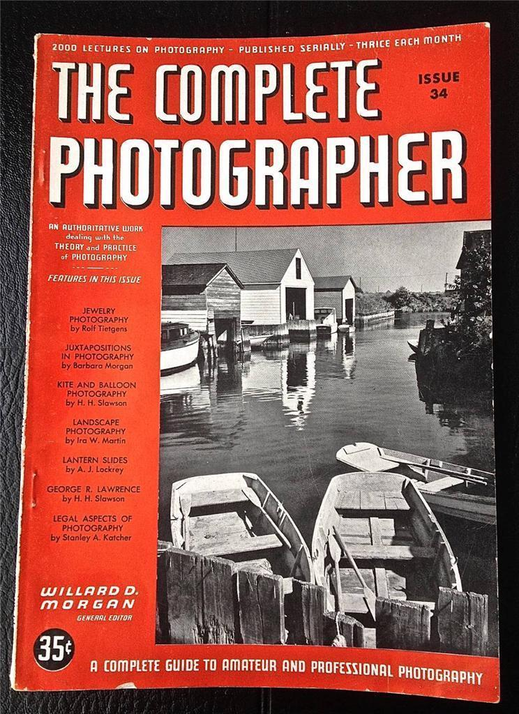 The Complete Photographer Magazine Issue 34 Volume 6 August 1942
