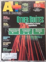 A+ Apple II Macintosh Magazine December 1986 Apple IIGS Updates How they Compare