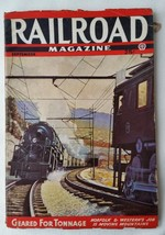 1944 September Railroad Magazine Pulp RR Articles Stories Rock Island 5100s