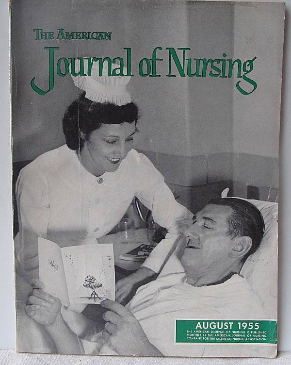 The American Journal of Nursing August 1955