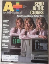 A+ Apple II Macintosh Magazine June 1986 Send in the Clones Compatible to real