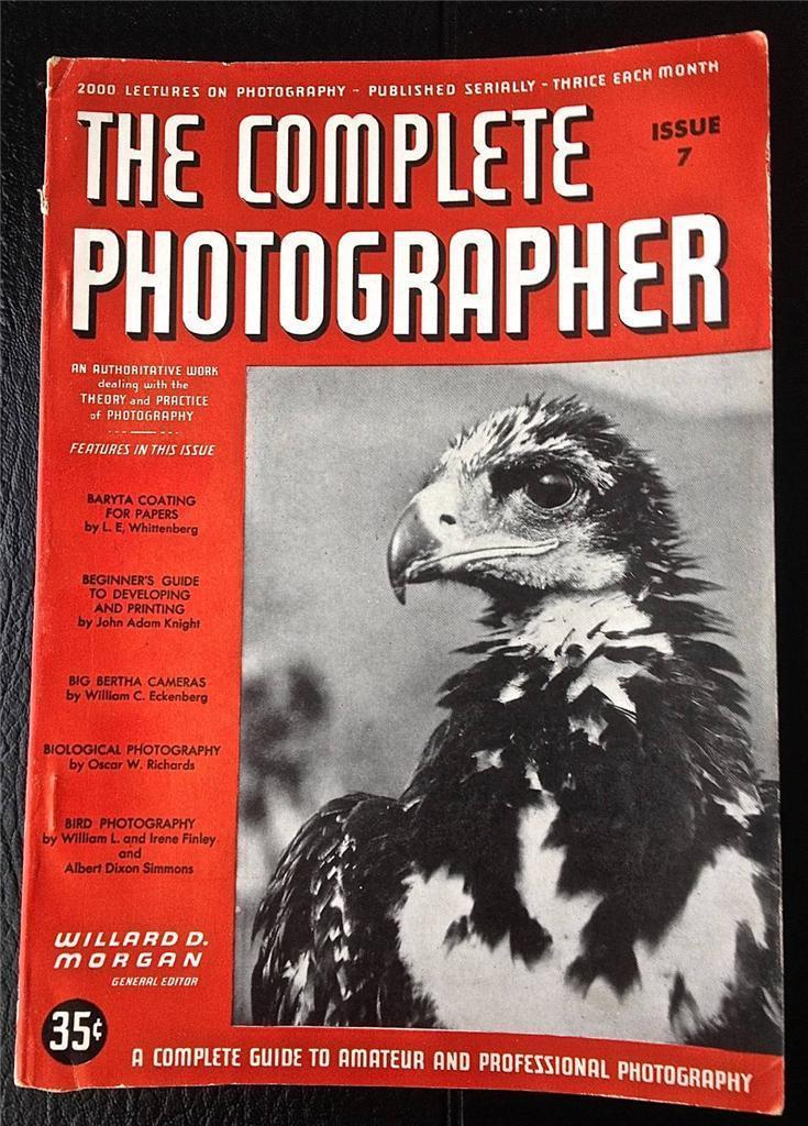 The Complete Photographer Magazine Issue 7 Volume 2 November 1941 Nature Photo