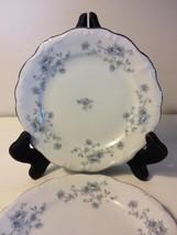 Johann Haviland Blue Garland Bavaria Backstamp Bread Butter Plate Set of 4