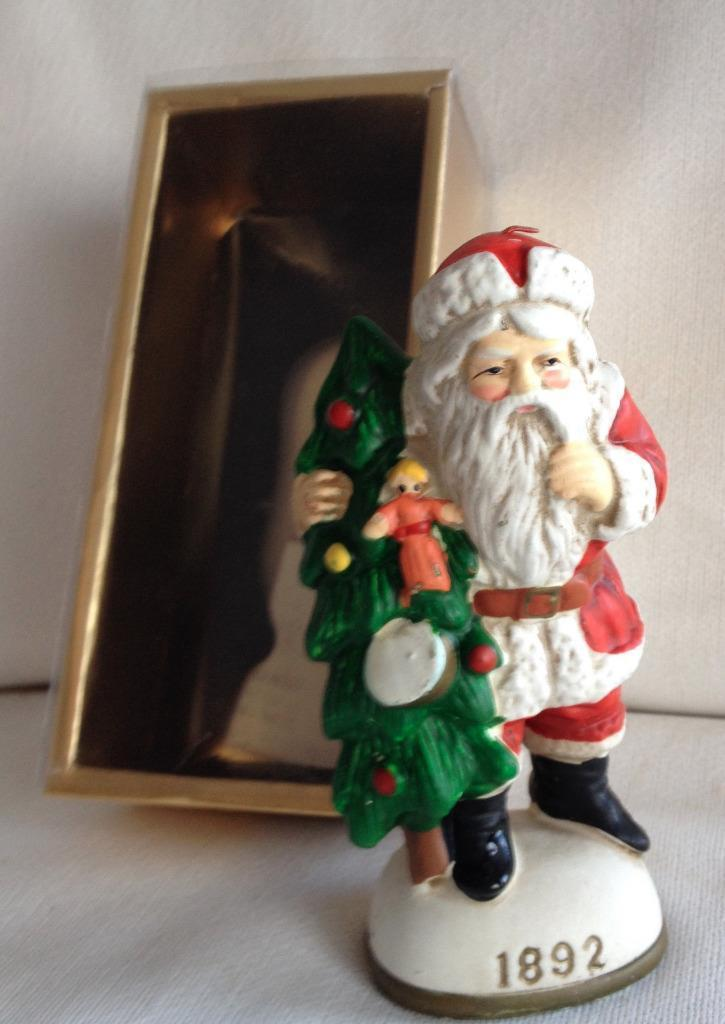 Memories of Santa 1892 Santa Claus with Christmas Tree Doll
