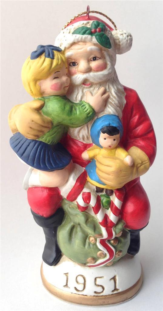 Memories of Santa 1951 Hugs and Kisses for Santa w/ original box doll candycane